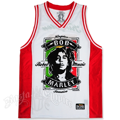 Bob Marley Rebel Music Jersey