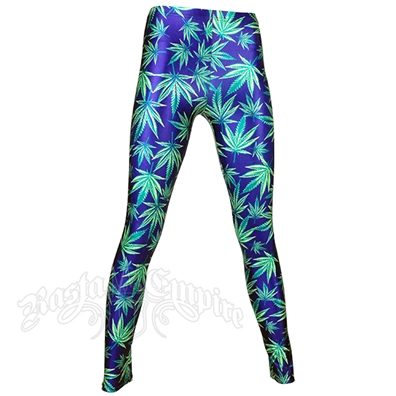 Bud Leaves  Leggings - Women's