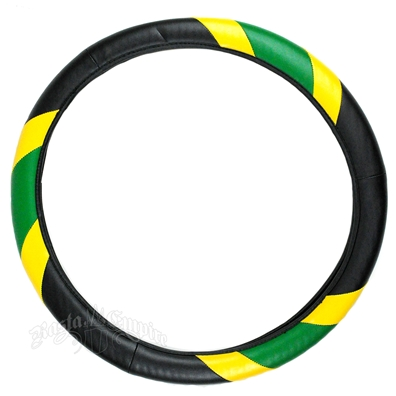 Jamaica Steering Wheel Cover