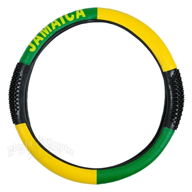 Jamaica Steering Wheel Cover with Grips