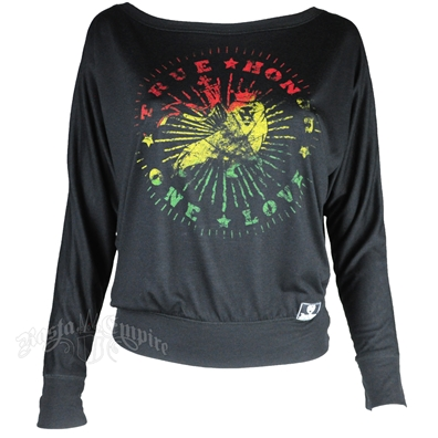 Rasta True Honor One Love Long Sleeve Tee - Women's