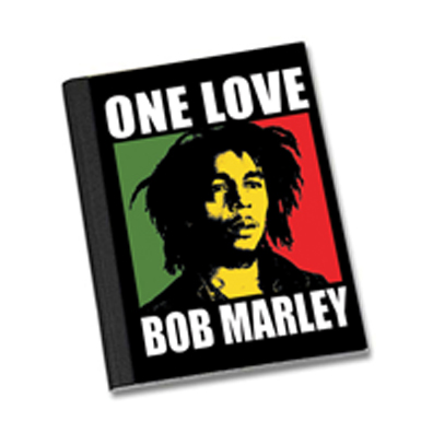 Bob Marley One Love Composition Book