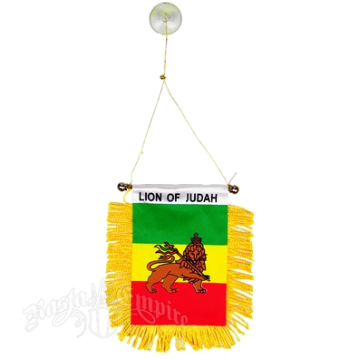Lion Of Judah Mini Banner