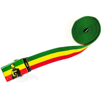 Canvas Belt - Haile Selassie W/out Hat