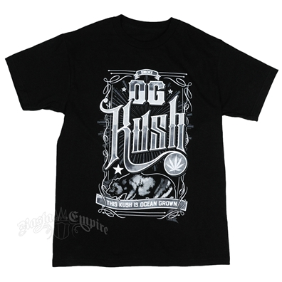 RastaEmpire OG Kush Strain Black T-Shirt – Men's