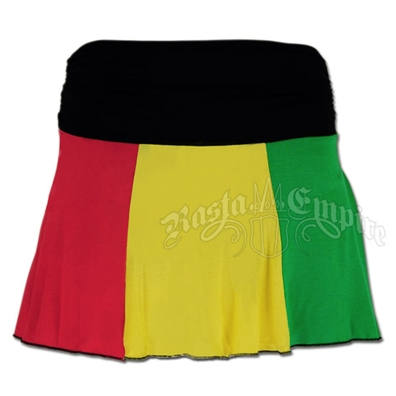 Rasta and Reggae Skirt