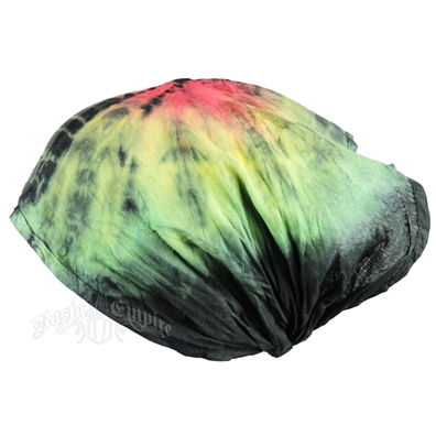 Rasta and Reggae Round Tie-Dye Head Band