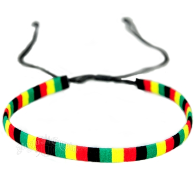 Rasta Wrapped Choker