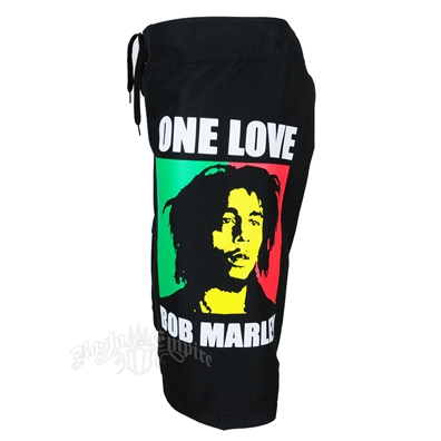 Bob Marley One Love Board Shorts