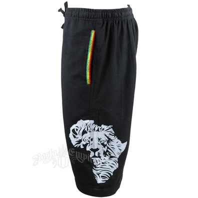 Rasta Cotton Shorts - Men's