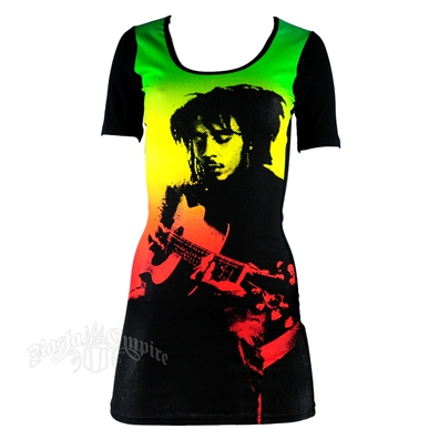 Bob Marley Guitar Dress