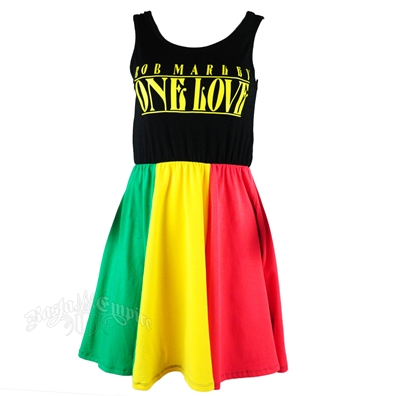 Bob Marley One Love Dress
