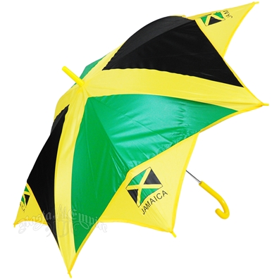 Jamaica Flag Long Umbrella