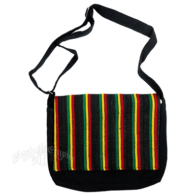 Rasta Striped Fun Shoulder Bag