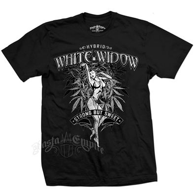 RastaEmpire White Widow Strain Black T-Shirt – Men's