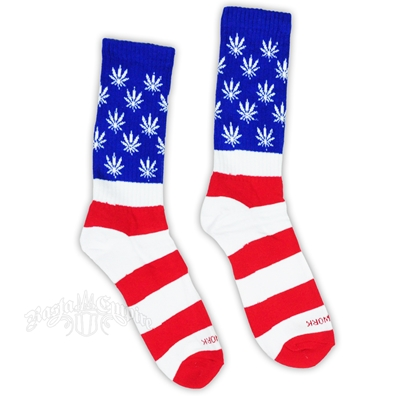 Flag Leaf Socks