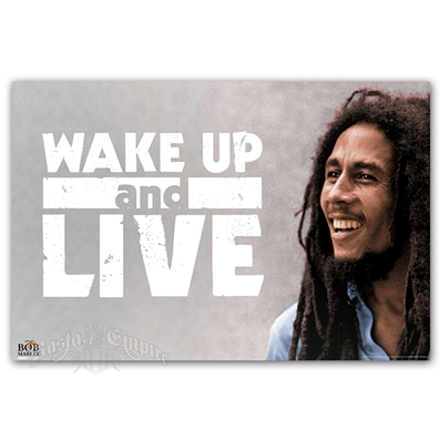 "Bob Marley Wake Up Poster 24"" X 36"""