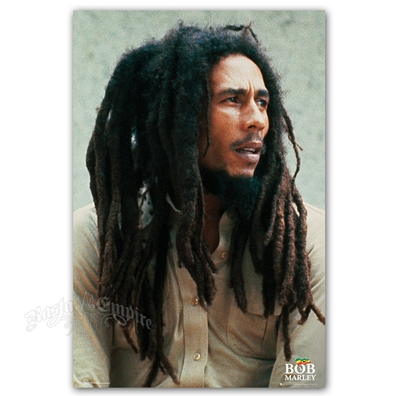"Bob Marley Pin Up Poster 24"" X 36"""