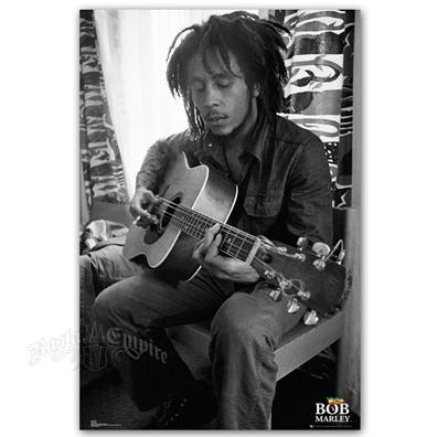 Bob Marley Guitar Poster 24