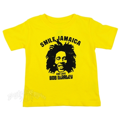 Smile Jamaica Yellow T-Shirt - Toddler's