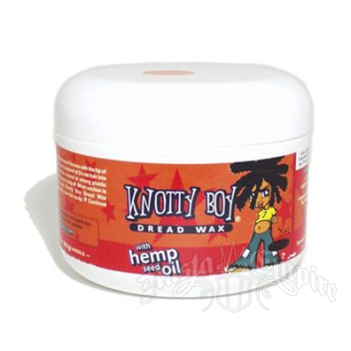 Knotty Boy Dread Wax - Dark