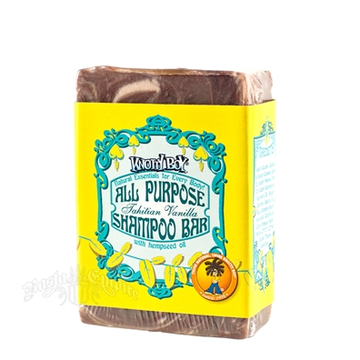 Knotty Boy All-Purpose 4 oz Shampoo Bar - Tahitian Vanilla