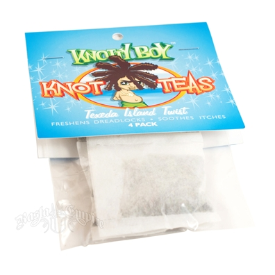 Knotty Boy Knot-Teas Scalp Tonics - Texada Island Twist 4 Pack