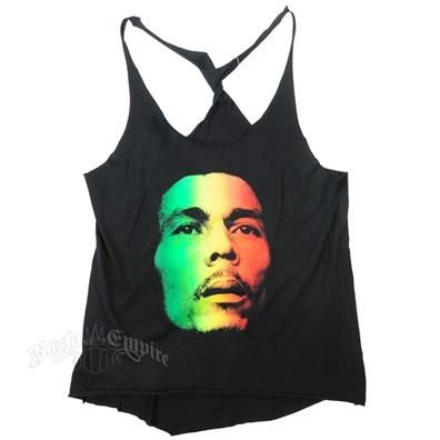 Rasta Redemption Face Twisted Tank Top - Women's