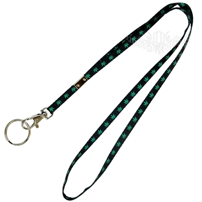 Marijuana Leaves Lanyard – Thin
