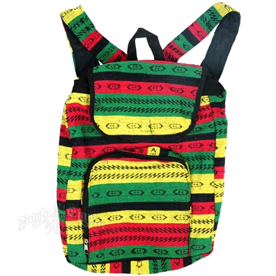Positive Vibratons Rasta and Reggae Backpack