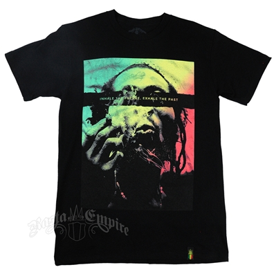 RastaEmpire Inhale Exhale Black T-shirt – Men's