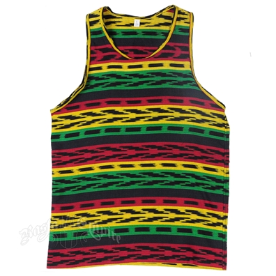 Rasta & Reggae Knitted Tank Top