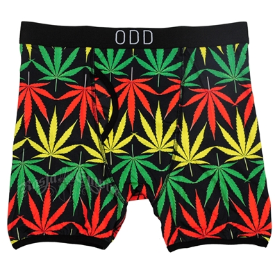 Rasta Pot Leaves Boxer Briefs