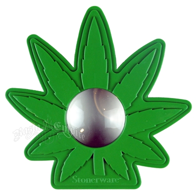 Marijuana Leaf Magnifying Glass