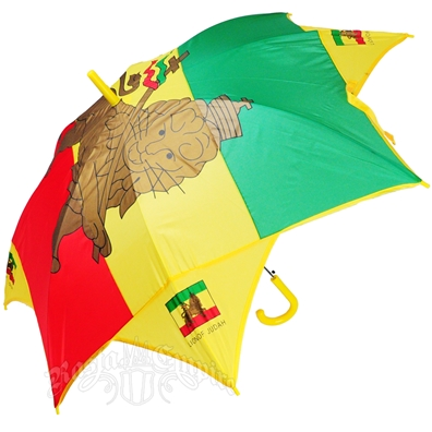 Rasta Lion of Judah Long Umbrella