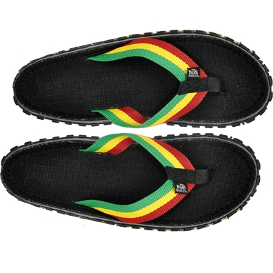 Bob Marley Fresco Black Sandals - Men's