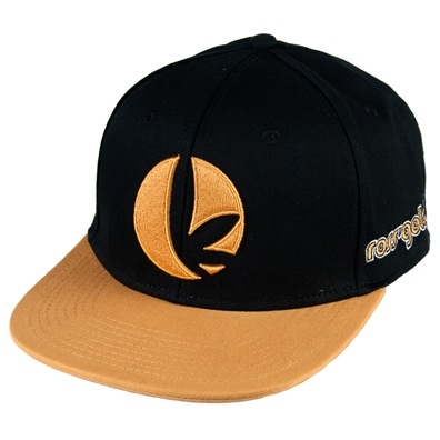 Ross' Gold Flatt Bill Embroidered Hat