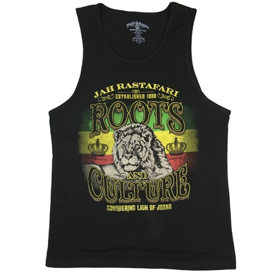 RastaEmpire Roots & Culture Black Tank Top