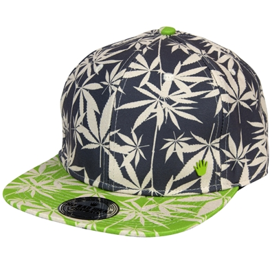 Kai 2.0 Snapback - Grey/Lime