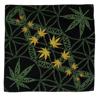 Sweet Leaves Infinity Circles Bandana