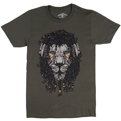 RastaEmpire Reggae Lion Brown T-Shirt – Men's