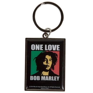 Bob Marley One Love Keychain