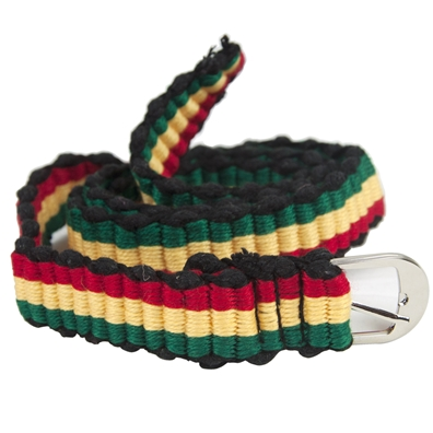 Rasta & Reggae Thread Belt