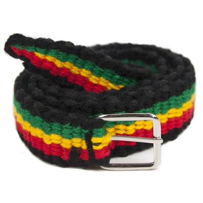 Rasta & Reggae Knitted Belt