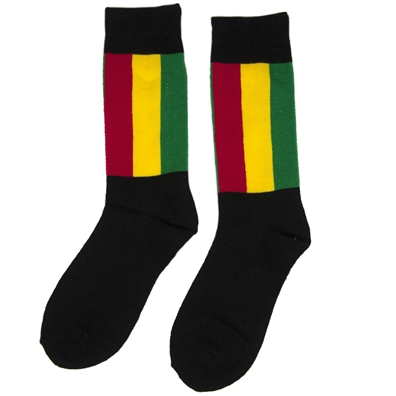 Get Up, Stand Up Rasta Tall Socks
