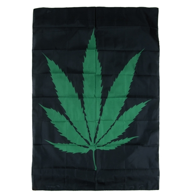 Pot Leaf Fabric Poster