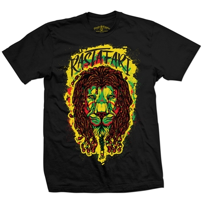 RastaEmpire - Rastafari Lion Black T-Shirt