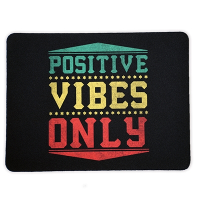 Rasta & Reggae - Positive Vibes Only - Mouse Pad