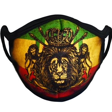 Rastaempire Lion Of Judah Crest Washable Face Mask