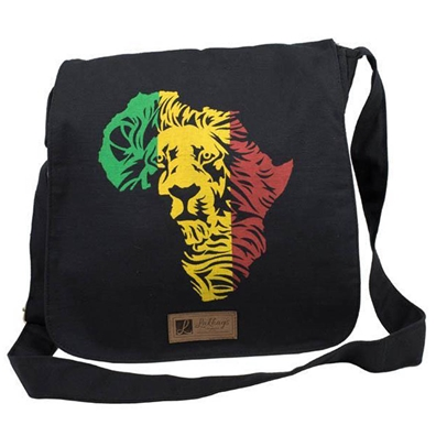 Rasta and Reggae African Lion Messenger Bag